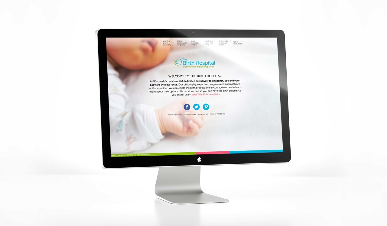 Columbia Center Birth Hospital Website
