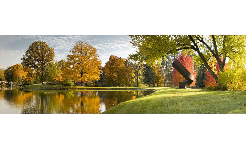 Lynden Sculpture Garden, Autumn