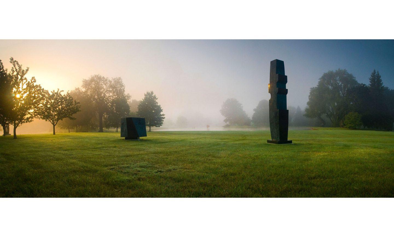 Lynden Sculpture Garden, Spring