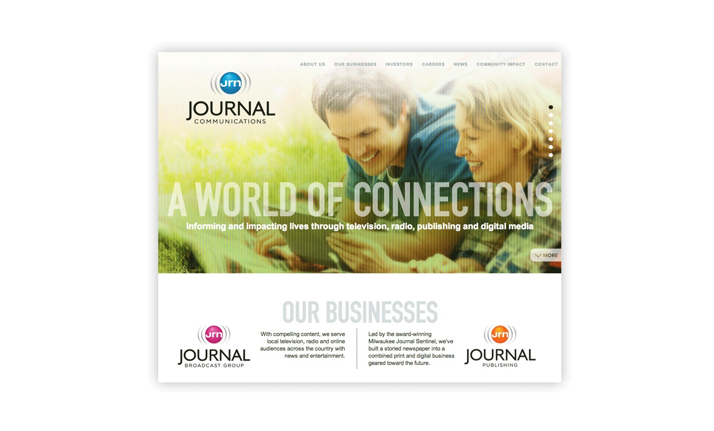 Journal Communications Website