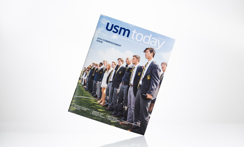 University School of Milwaukee - USM Today magazine, Spring 2014
