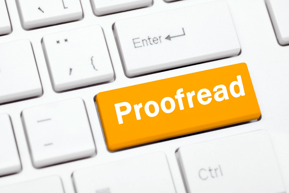 Dissertation Proofreading Rate